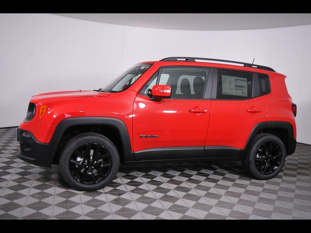 New 2018 Jeep Renegade Latitude Sport Utility in Massillon ...