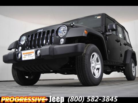 New 2016 Jeep Wrangler 4DR Unlimited Lease And Sale Special In Massillon  Near Canton And Akron
